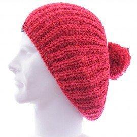 Volcom bonnet pom pom beret rouge