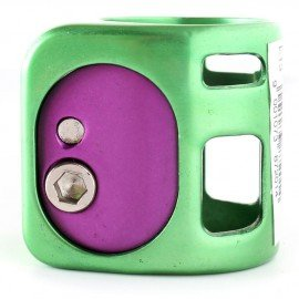 Fasen collier 2 Clamps Green Purple