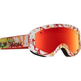Burton Masque Enfant Tracker 8BIT/Red Amber 2017