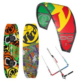 Pack kitesurf F-one Bandit 2016 + Planche RRD Placebo
