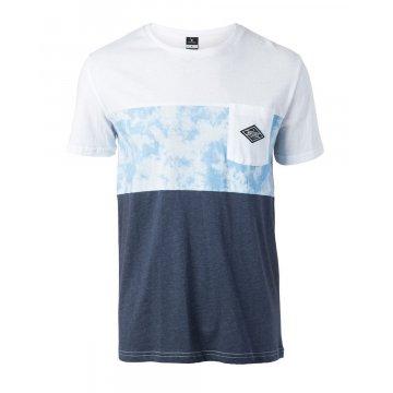 Tee-Shirt Manches Courtes Rip-Curl Combine Bleu 2017