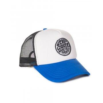 Casquette Rip-Curl Wetty Badge Trucker Bleu 2017