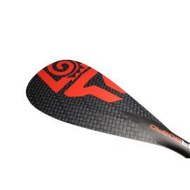 Pagaie Starboard Enduro Tiki Tech Hybrid Carbon Round Fixe Rouge 2017