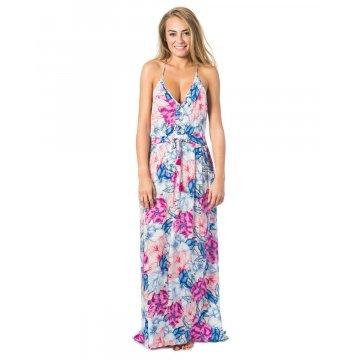 Robe Rip-Curl Pivoine Bloom Rose/Bleue/Blanche