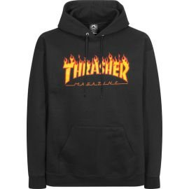 Sweat Thrasher Flame Noir