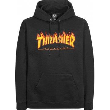 Sweat Thrasher Flame Noir