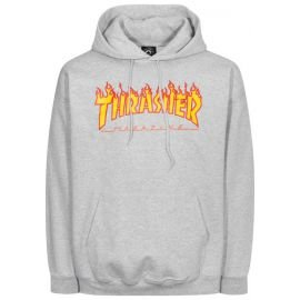 Sweat Thrasher Flame Gris