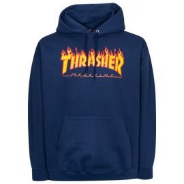 Sweat Thrasher Flame Bleu