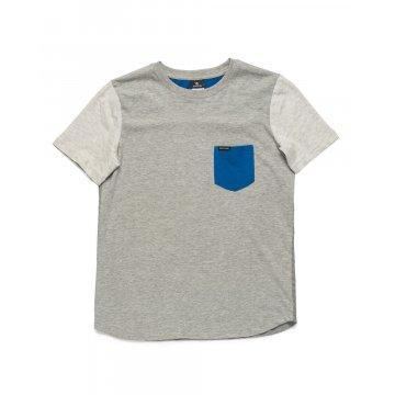 Tee-Shirt Manches Courtes Rip-Curl Santa Fashion Gris