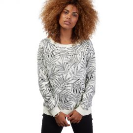 Sweat Manches Longues Volcom In My Lane Blanc