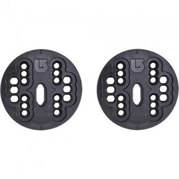 Burton disques 4x4 channel, adaptables pour fixations ancienne generation, convertibles rails ICS