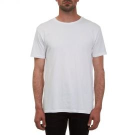 Tee-Shirt Manches Courtes Volcom Stoneblank BSC Blanc