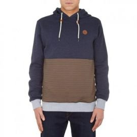 Sweat Volcom Threezy Pullover Bleu/marron