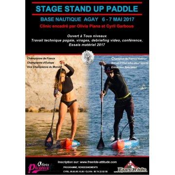Stage 2 jours 6-7 mai Agay avec Olivia Piana et Cyril Garbous