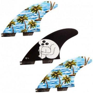 Ailerons Gorilla Futur Thruster taille L