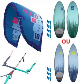 Pack kitesurf North Neo + Nugget ou Quest 2017
