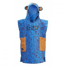 Poncho All In Baby bleu