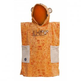 Poncho All In Baby corail