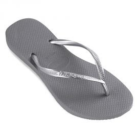 Havaianas tong Slim gris