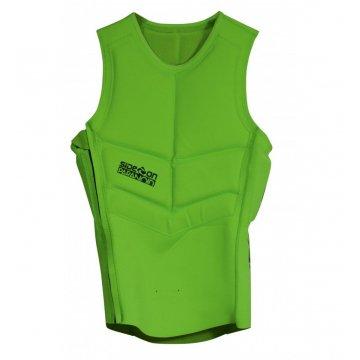 Side-on Gilet Impact Full Protection Vert