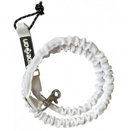 Side-on Leash Kite Blanc