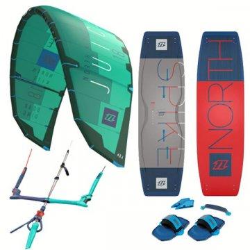Pack kitesurf North Juice + planche light wind