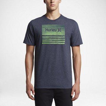 Tee-shirt Hurley Borderline Textripe Obsidian 2017