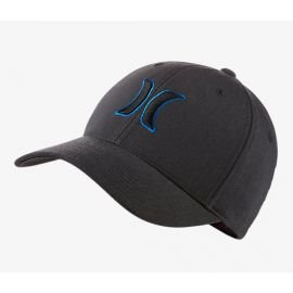 Casquette Hurley Black Suits Outline Bleu 2017