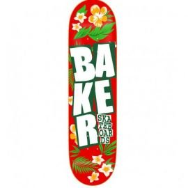 Plateau Baker Stacked Floral 8.0'' Rouge 2017