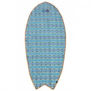 Serviette All-In Surf Towel Corail/bleu