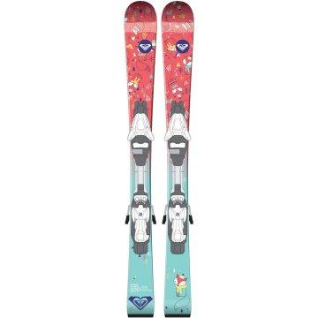 Roxy Bonbon C5 junior skis + fixations 2018