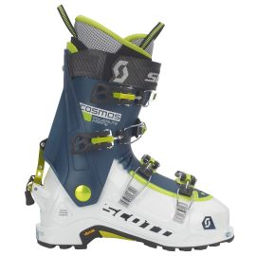 Scott Cosmos white/majolica blue chaussures de ski 2018