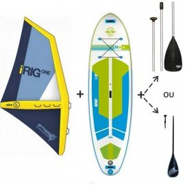 Pack Windsup BIC AIR GONFLABLE 10'6 x 33 2017 + Gréement Arrow I-rig
