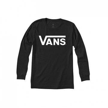 VANS Classic LS B T-shirt noir Enfant 2017
