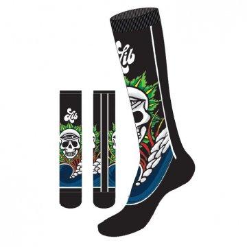 Lib-Tech JAMIE LYNN ART SOCK chaussettes de ski 2018