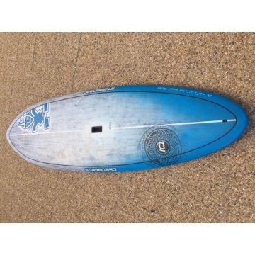 """Starboard Pocket Rocket 8'5"""" x 30 brushed carbone"""