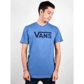 Vans Classic Heat Delft Heather T-shirt Bleu Adulte 2017