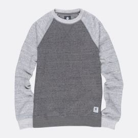 Element MERIDIAN BLOCK CREW gris pull ML 2018