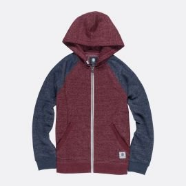 Element MERIDIAN BLOCK ZH BO rouge junior sweat 2018