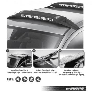 Starboard barres de toit gonflables Handirack