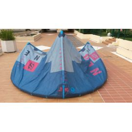 Aile d'occasion North kiteboarding Neo 10m² 2017 complète n°1 bleu