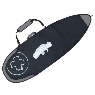 Manual boardbag silver