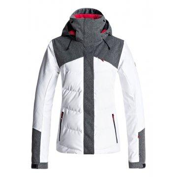 Roxy FLICKER blanc veste de snow 2018