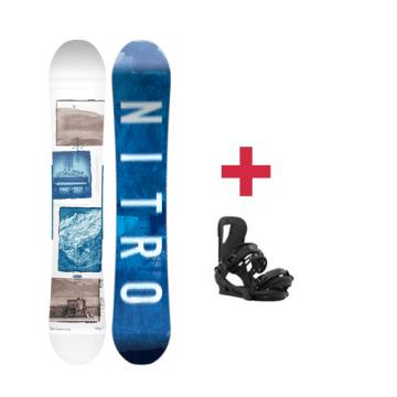Pack Nitro TEAM EXPOSURE GULLWING snowboard 2018