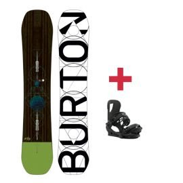 Pack Burton CUSTOM snowboard 2018
