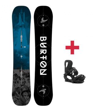 Pack Burton PROCESS Flying V snowboard 2018