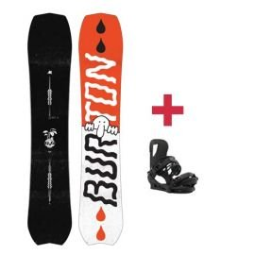 Pack Burton KILROY CUSTOM snowboard 2018