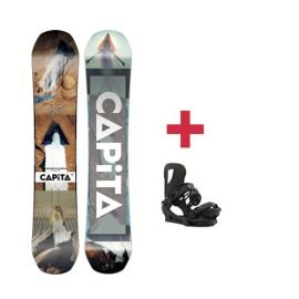 Pack CAPITA DEFENDERS OF AWESOME DOA snowboard 2018