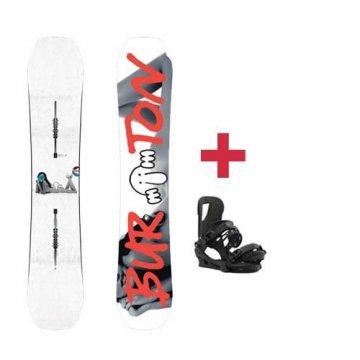 Pack Burton KILROY PROCESS snowboard 2018
