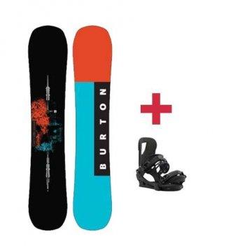 Pack Burton INSTIGATOR snowboard 2018